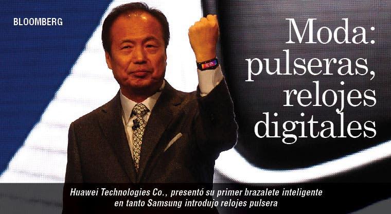 Huawei y Samsung lanzan dispositivos para vestir
