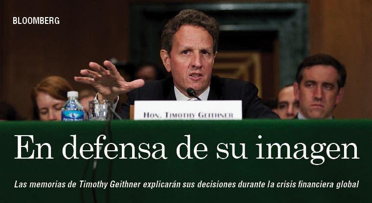 Geithner despeja su imagen sobre Wall Street