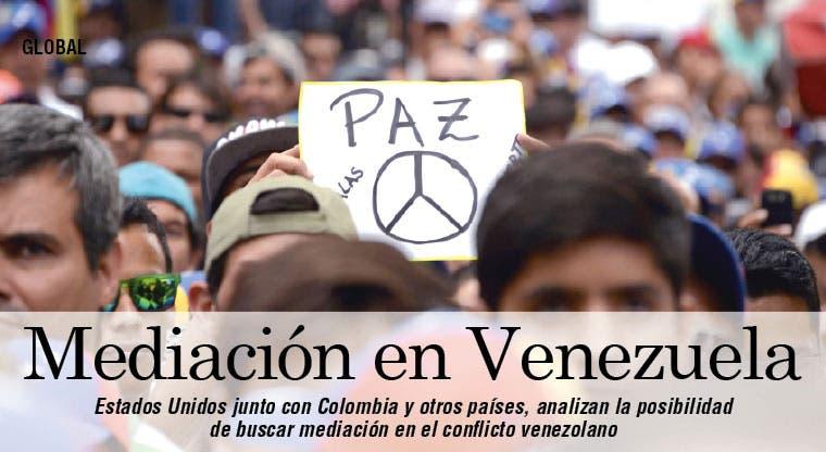 EE.UU. estudia mediación en Venezuela