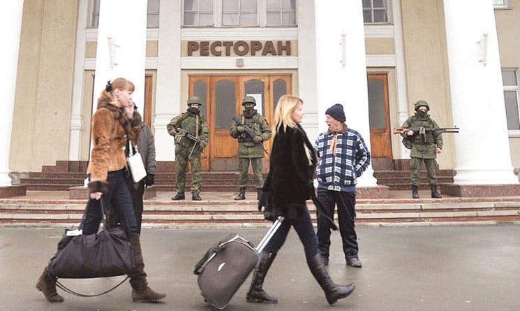 Ucrania recurre a ONU por desórdenes en Crimea