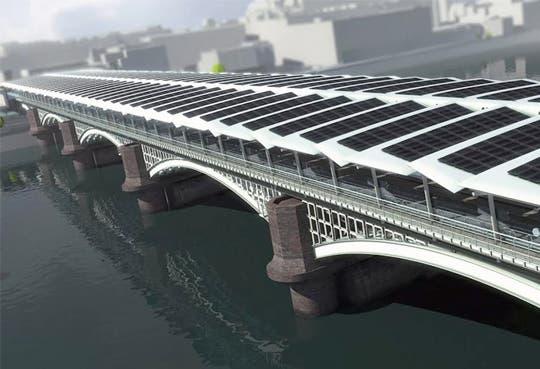 Puente solar  más grande del mundo