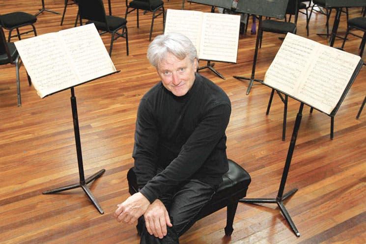 """""""Me he enamorado de la pasión que tiene la orquesta"""""""