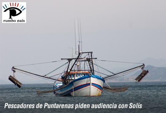 Pescadores quieren encuentro oficial con Solís