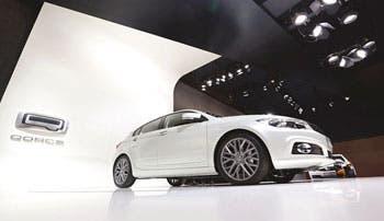Chinos compiten en mercado automotor europeo