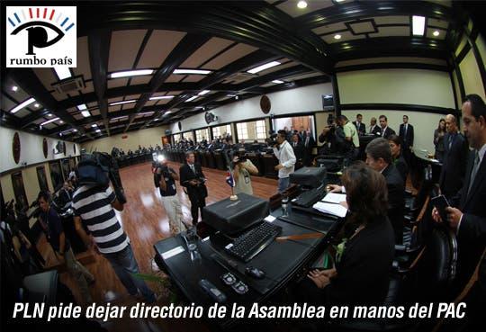 PLN cede control del Congreso a Luis Guillermo