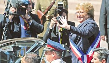 Derrotar la desigualdad en Chile, reto de Bachelet