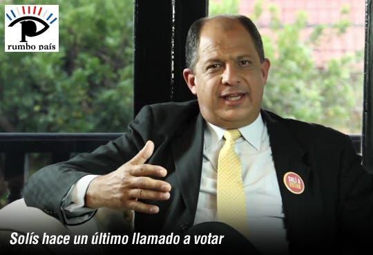 [Video] Solís inicia última fase de campaña