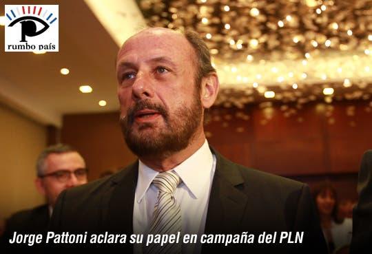 """""""Ni Vocero, ni Jefe de Estrategia"""": Pattoni"""