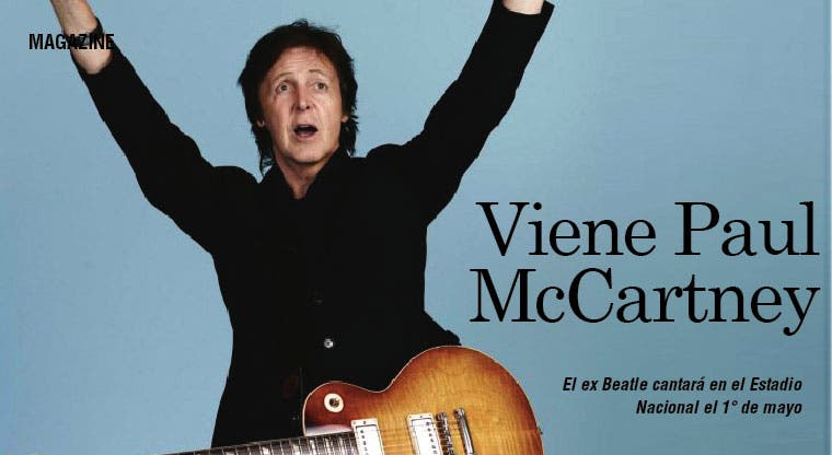 Confirmado: viene Paul McCartney
