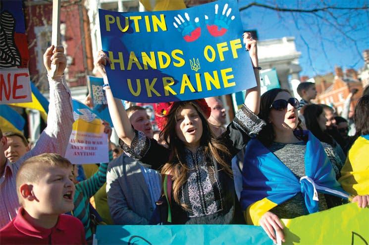 Crimea votó por unirse con Rusia