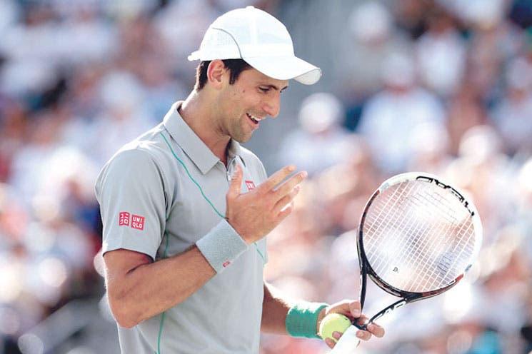 Triplete para Djokovic