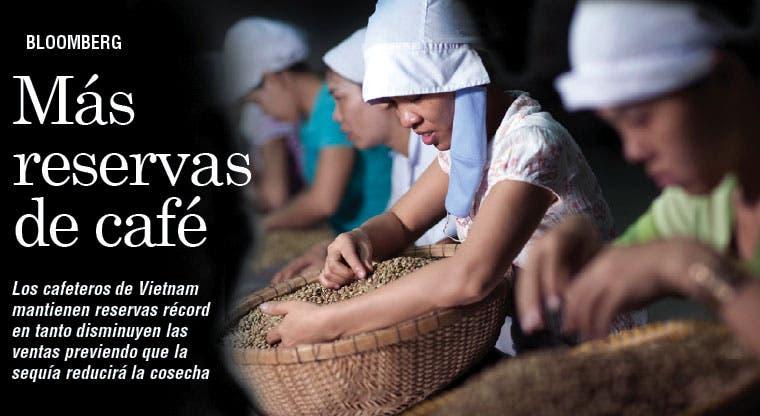 Cafeteros vietnamitas retienen producción