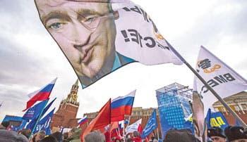 Con ovación Rusia consumó anexión de Crimea