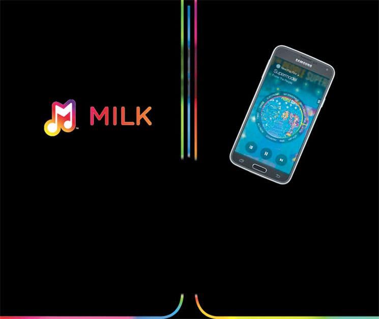 Con Milk, Samsung va por todo