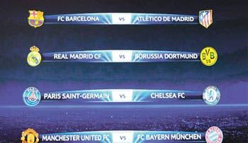 Al United le tocó el Bayern