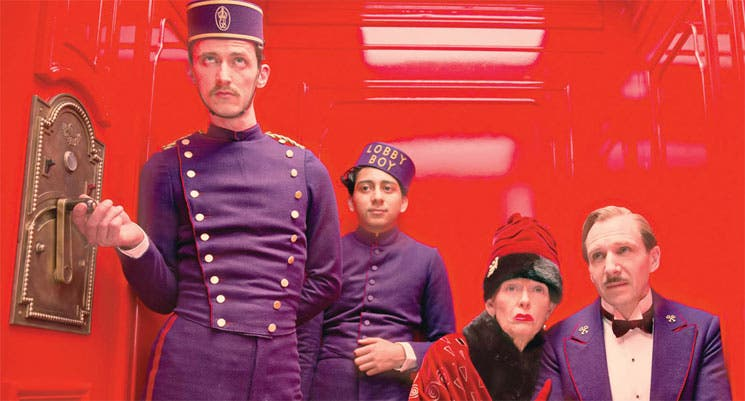 """The Grand Budapest Hotel"": divertida, original, kitsch"