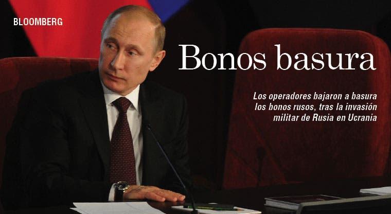 Operadores consideran basura deuda de Putin