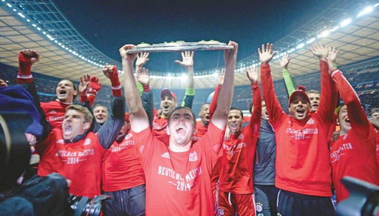 Bayern, campeón con récords