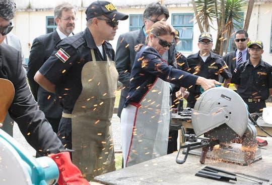 Más de 21 mil armas destruidas
