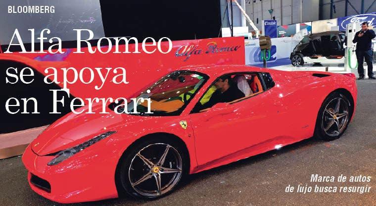 Alfa Romeo se apoya en Ferrari para resurgir