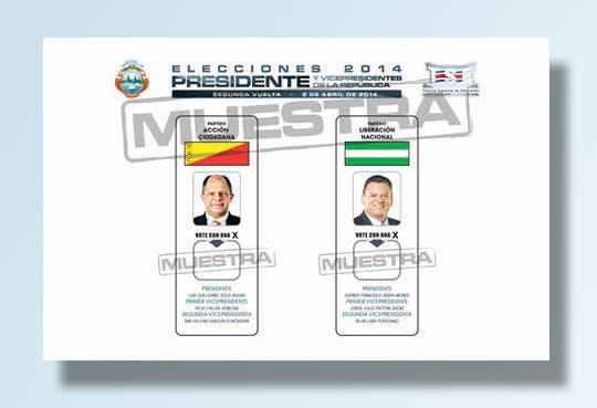 Material electoral está listo, viene segunda ronda