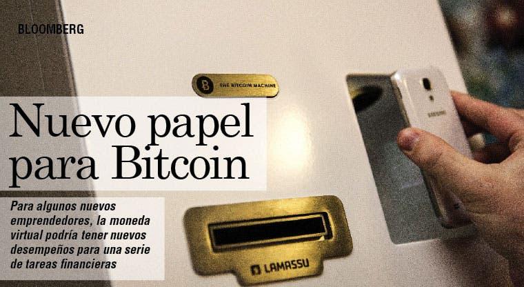 Bitcoin tendría un papel en Internet del Dinero
