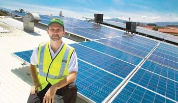 Energía solar atrae a mercado empresarial
