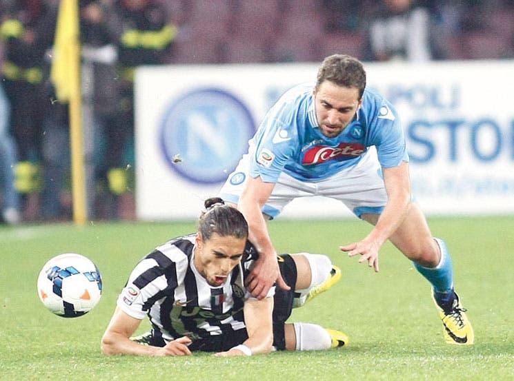 Nápoles frenó a la Juve