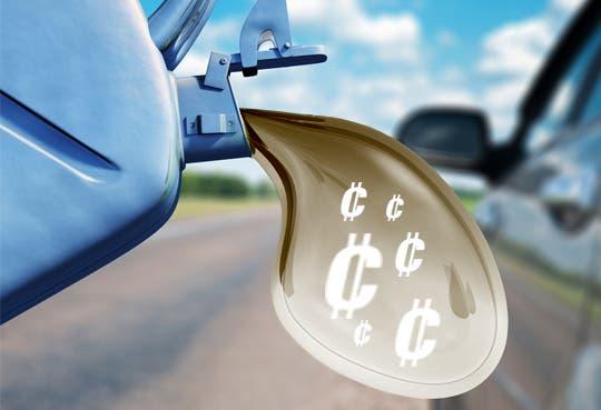 Viene alza de entre ¢25 y ¢45 en combustibles