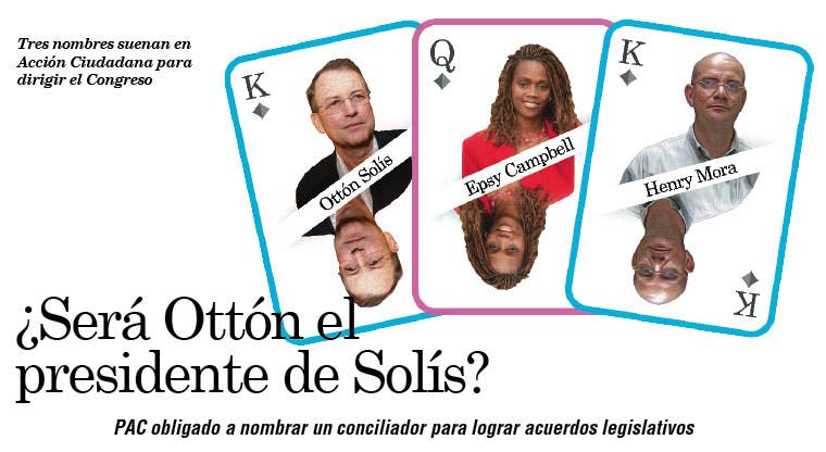 ¿Será Ottón el presidente de Solís?