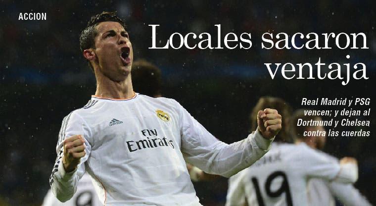 Madrid y PSG hacen la tarea