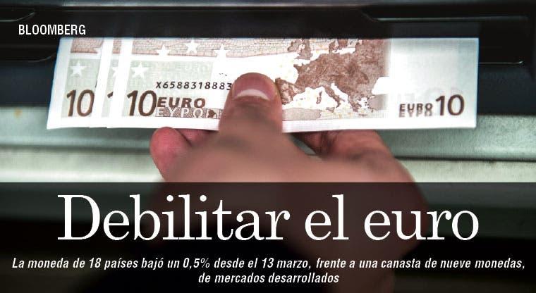 Debilitar euro necesita más que palabras