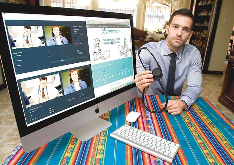 Innovador trabajo para médicos