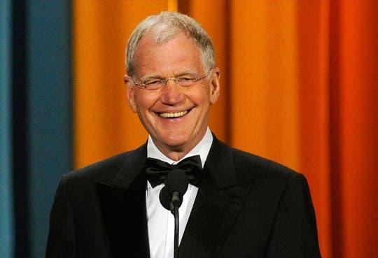 El presentador David Letterman anuncia su retirada