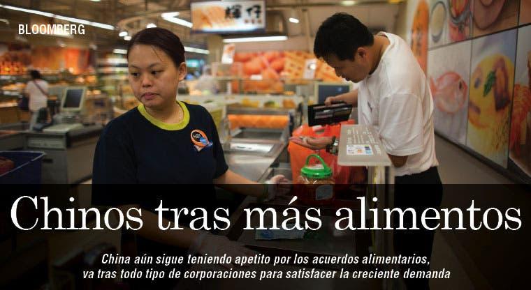 Chinos tienen apetito por acuerdos alimentarios