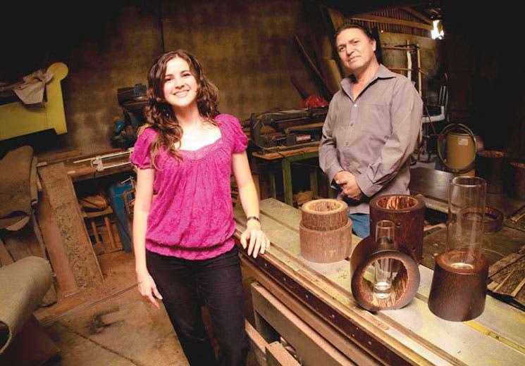 Decore su casa con madera reciclada