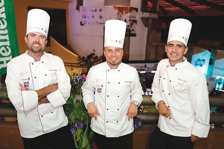 Chefs premiados por su talento