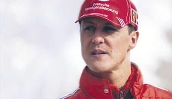 Schumacher muestra mejoría