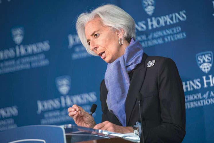 Débil recuperación ocupa al FMI
