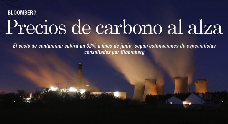 Precios de carbono con tendencia al alza