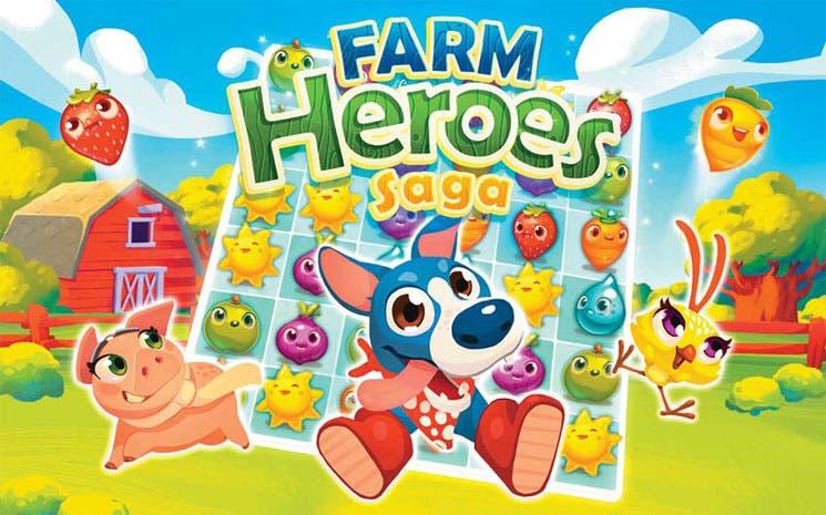 """""""Farm Heroes Saga"""" a la caza de jugadores"""