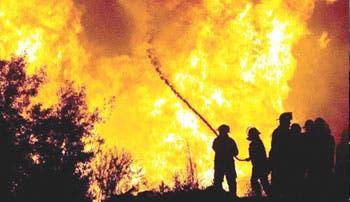 Incendio devastó Valparaíso