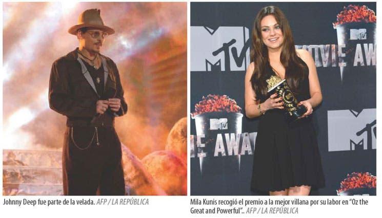 """""""The Hunger Games"""" pone su sello a los MTV"""