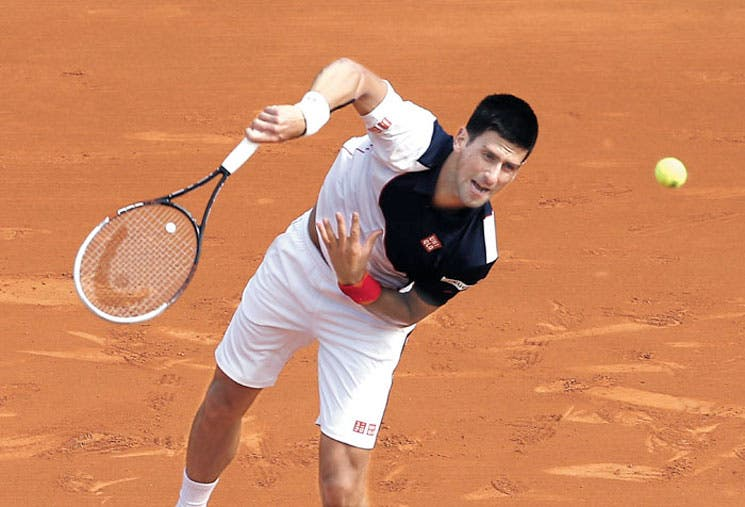 Djokovic arrancó de paseo
