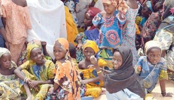 Al menos 200 niñas secuestradas en Nigeria