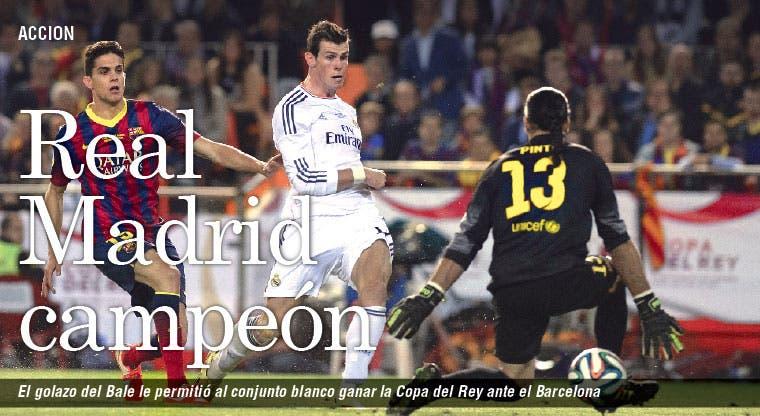 Bale galopó hacia la Copa
