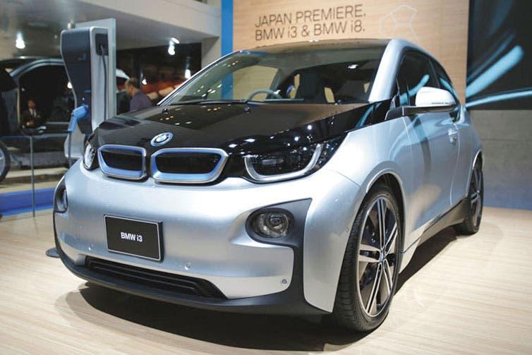 BMW eleva producción de auto eléctrico i3