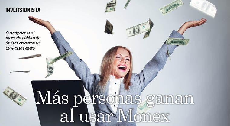 Más personas ganan al usar Monex