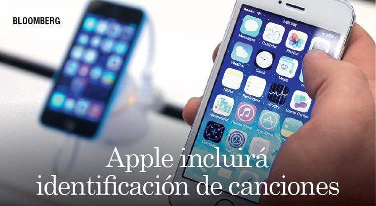 Apple incluirá identificación de canciones