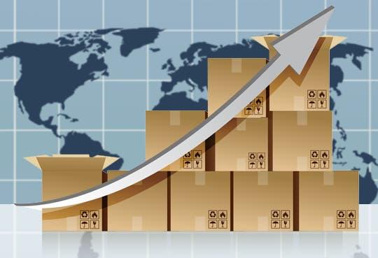 Exportaciones crecieron 2,2%